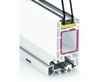 Durų profilių sistema REHAU Thermo-Design