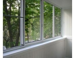 Balkonų stiklinimas - stumdoma balkonų įstiklinimo sistema
